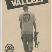 MIKE VALLELY Tracker Skateboard Ad, Vintage Advertisement