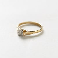 Vintage Diamond Acre Lover's Ring