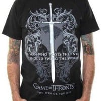 Game Of Thrones T-Shirt - Swing The Sword