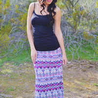 Closet Candy Boutique · Talk The Talk Maxi Skirt - Magenta