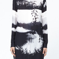 Totokaelo - Mary Katrantzou Gloria Long Sleeve Blouse Dress - $759.00
