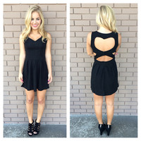 Black Heartbreaker Dress