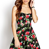 Darling Rose A-Line Dress | FOREVER21 - 2000127424