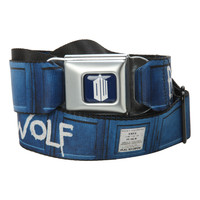Doctor Who Bad Wolf Seat Belt Belt