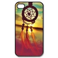S9Q Sunrise Dream Catcher Pattern Cloud Feather Mayan Aztec Tribal Case Cover Back Skin Shell Shield For Apple iPhone 5C - Retro Vintage Dreamcatcher + A Nice Gift