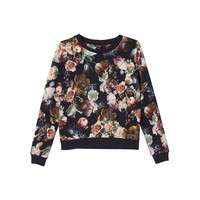 Lollo sweat painted flower | New Arrivals | Monki.com