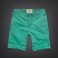 NWT Hollister Men's Classic Fit Shorts Light Green Size 34 L Large. Retail $89.