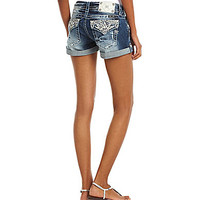 Miss Me Cuffed Denim Shorts | Dillards.com