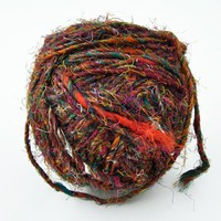 Recycled Silk Yarn