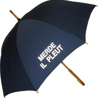 Merde Il Pleut Umbrella - Raindrops Umbrellas & Rainwear Canada