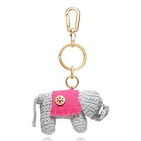 CROCHET ELEPHANT KEY FOB
