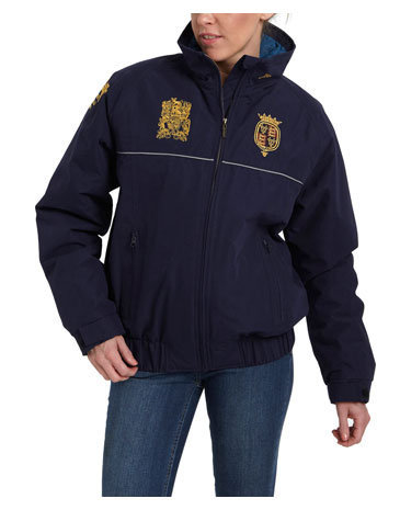 Navy Womens Badminton Jacket Badminton Coat | Joules