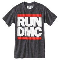 Men's Run DMC Graphic Tee - Black