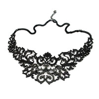 Baroque Frame Necklace (LAST ONE)