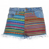 - Aztec Women's Hot Pants - Attitude Clothing
