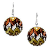 Chevron Safari Earring