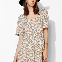 Urban Renewal '90s Blossom Mini Dress - Urban Outfitters