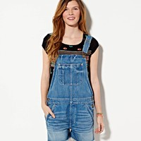 AE DENIM SHORTALL