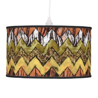 Chevron Safari Pendant Lamp