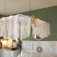 Salvaged Window=Bed Canopy