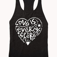 Love Is Everywhere PJ Tank