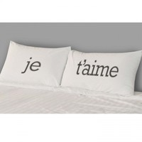Je T'aime Pillow Case Set