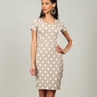 Bhatti Polka Dot Print Dress Made In France - 			        	For Your Little One: Designer Pieces Shop