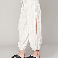 Free People Womens Black Pearl Pants -
