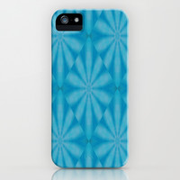 Blue Diamond iPhone & iPod Case by Laura Santeler