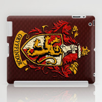 Harry potter Gryffindor team shield apple iPad 2, 3 and iPad mini Case