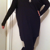 Tunic Black Piko