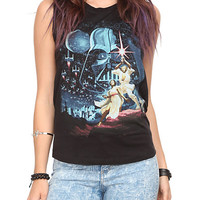 Star Wars Slash Sleeveless Girls Top