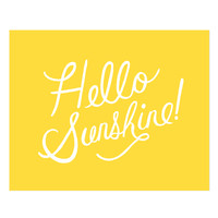 Rifle Paper Co. - Hello Sunshine Print
