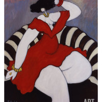 Marie Giclee Print by Michel Boulet at Art.com