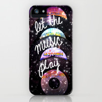 Let the Music Play iPhone & iPod Case by Shawn Terry King