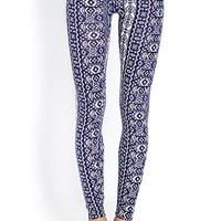Globetrotter Tribal Print Leggings