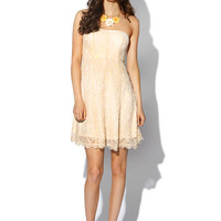 Papaya Clothing Online :: GORGEOUS LACY FLARE DRESS