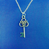 Metal Key Necklace