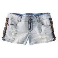 Mossimo Supply Co. Junior's Side Detail Denim Short