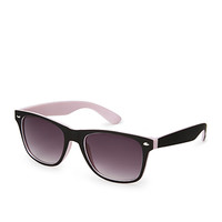 F3591 Colorblocked Wayfarer Sunglasses