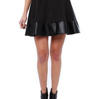 Papaya Clothing Online :: LEATHERETTLE FLARE SKIRTS