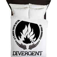 Divergent - At Your Bravest Queen Duvet