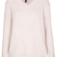 Brushed Mohair Jumper by Boutique