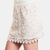Finest Hour Crochet Lace Skirt | Threadsence