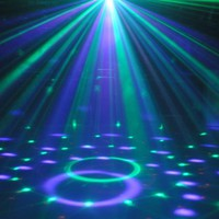 LED MP3 DJ Club Pub Disco Party DMX512 Crystal Magic Ball Stage 12W RGB Light