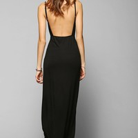 Staring At Stars Knit Open-Back Maxi Dress - Urban Outfitters