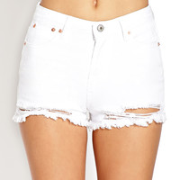 Favorite Destroyed Denim Shorts