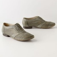 Graph Paper Oxfords - Anthropologie.com