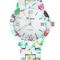 Floral Watch | MakeMeChic.com