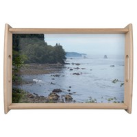 Scenic Coastline Serving Tray